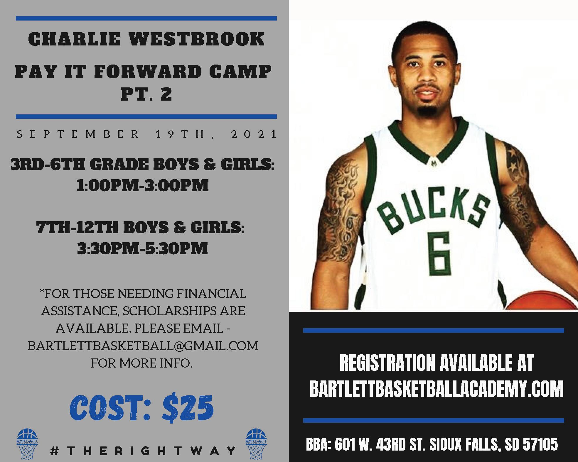 Charlie Westbrook Camp Pt. 2